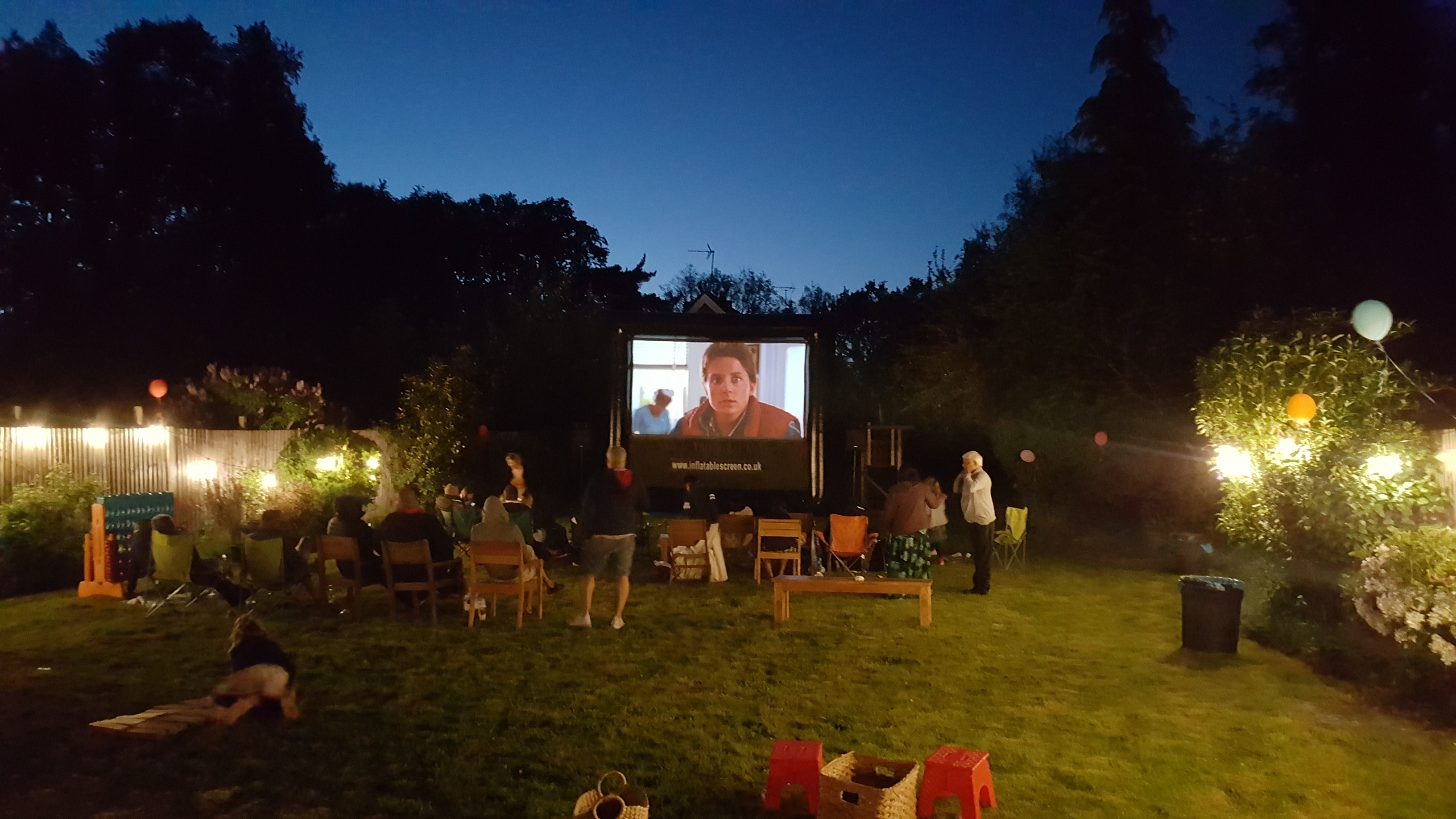Hire outdoor cinema for your birthday party!