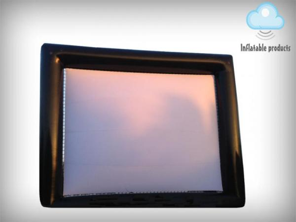 Inflatable projection screen 20m x 10m