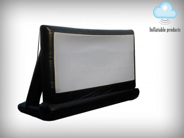Inflatable projection screen 8m x 4m